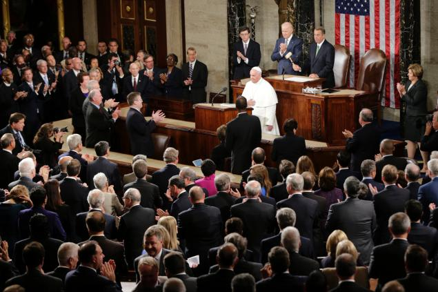 Pope Francis in the U.S. Congress